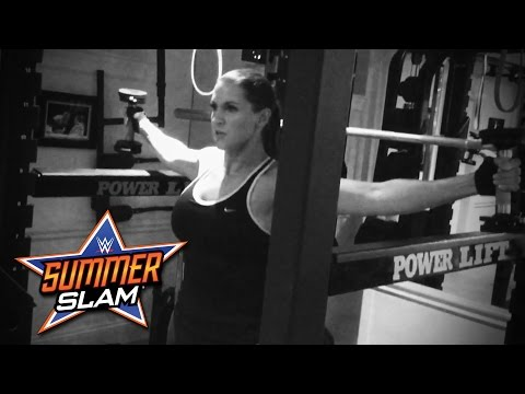 Stephanie McMahon's intense SummerSlam workout thumbnail