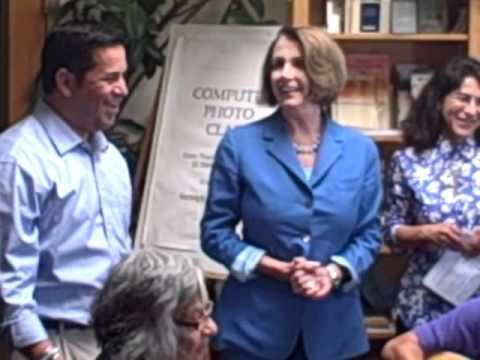 Ben Ray Lujan and Nancy Pelosi