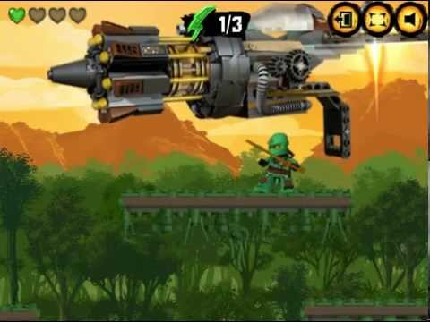 🈯Sir Fangar Plays LEGO NinjaGo Rush #1 - YouTube