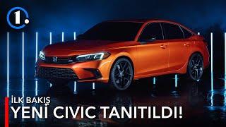 Yeni 2021 Honda Civic Tanıtıldı! | Accord'a Benzemeye Başlamış