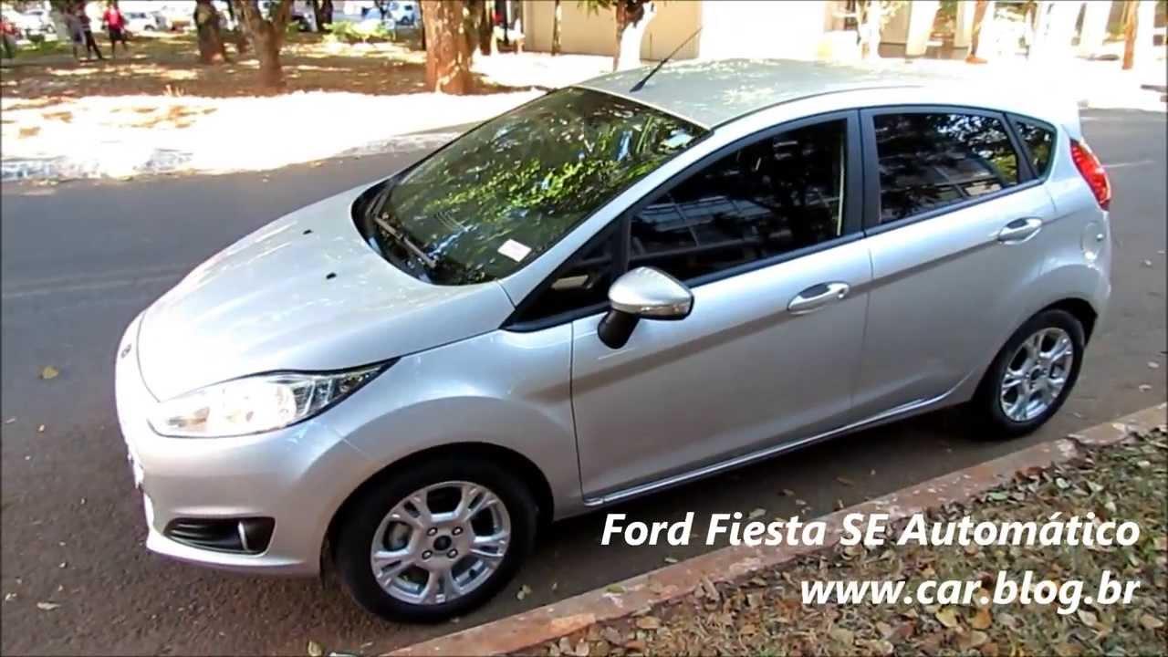 Ford fiesta 2014 automático www car blog br
