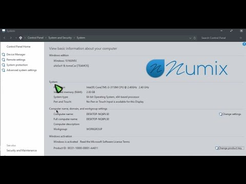 windows 10 numix 2018
