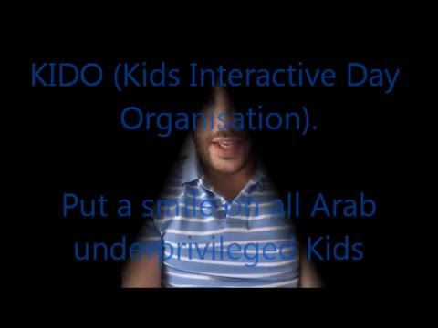 KIDO (Kids Interactive Day Organisation) -- Smile on all Arab Kids