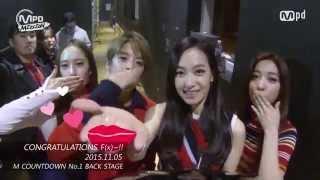 No.1 F(x) CONGRATULATIONS! 에프엑스 1위 축하!! 151105