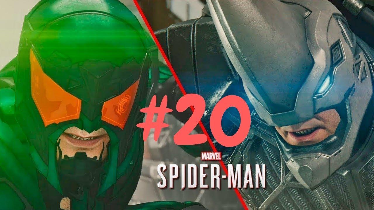 Download SPIDERMAN vs RHYNO e SCORPION | SPIDER-MAN PS4 Walkthrough Gameplay ITA HD PARTE 20