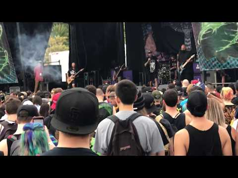 The Acacia Strain - FULL SET [Live HD] - Vans Warped Tour (Mountain View, CA 8/4/17)