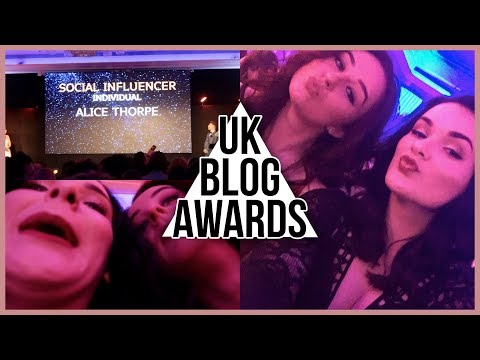 FUNNY DRUNKEN ANTICS IN LONDON! | UK Blog Awards 2018