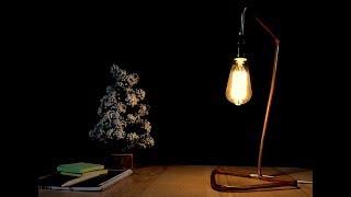 DIY Copper Lamp desk - مصباح مكتب من انبوب النحاس