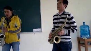 Huế Trịnh FC- Diễm xưa & Một cõi đi về- sax cover