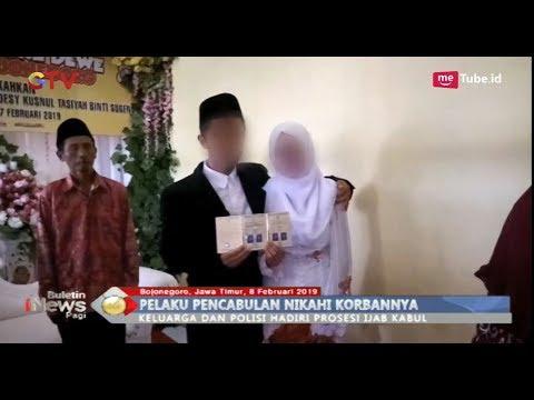 Mengharukan! Pelaku Pencabulan di Bojonegoro Nikahi Korbannya di Sel Tahanan - BIP 09/02