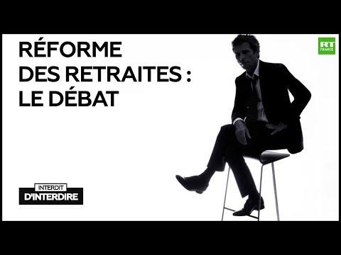 Interdit d'interdire : Réforme des retraites : le débat