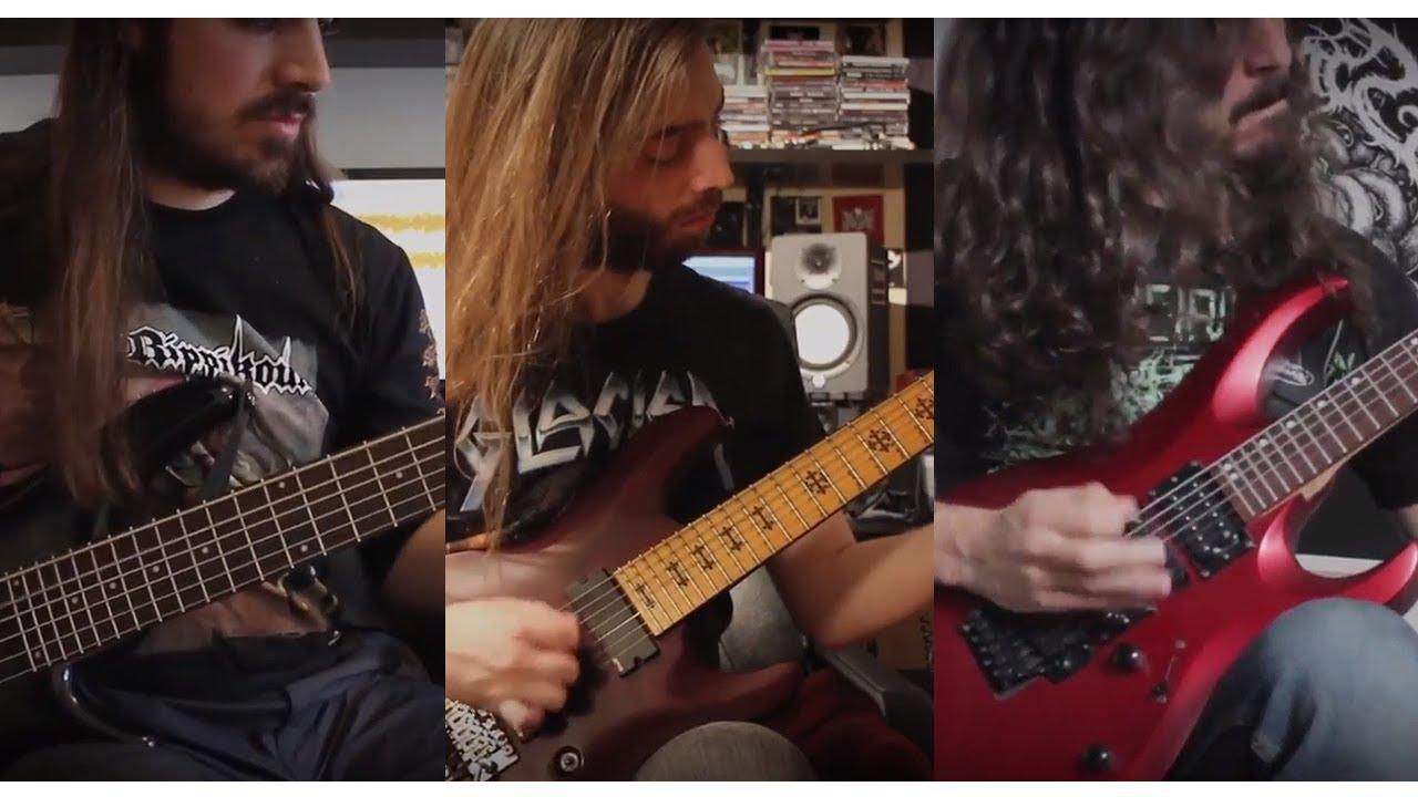 """Guitar showcases : Serocs unveils guitar/bass medley from upcoming album """"The Phobos/Deimos Suite"""""""