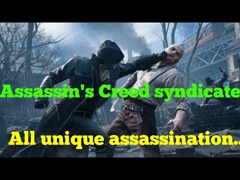Assassin s Creed Syndicate | All Unique Assassinations