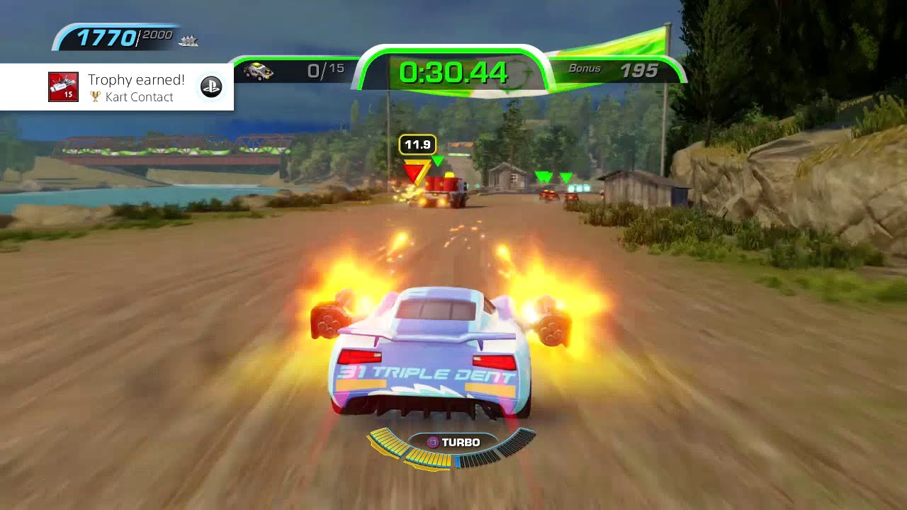 Cars 3 Driven To Win Kart Contact Trophy Achievement Guide