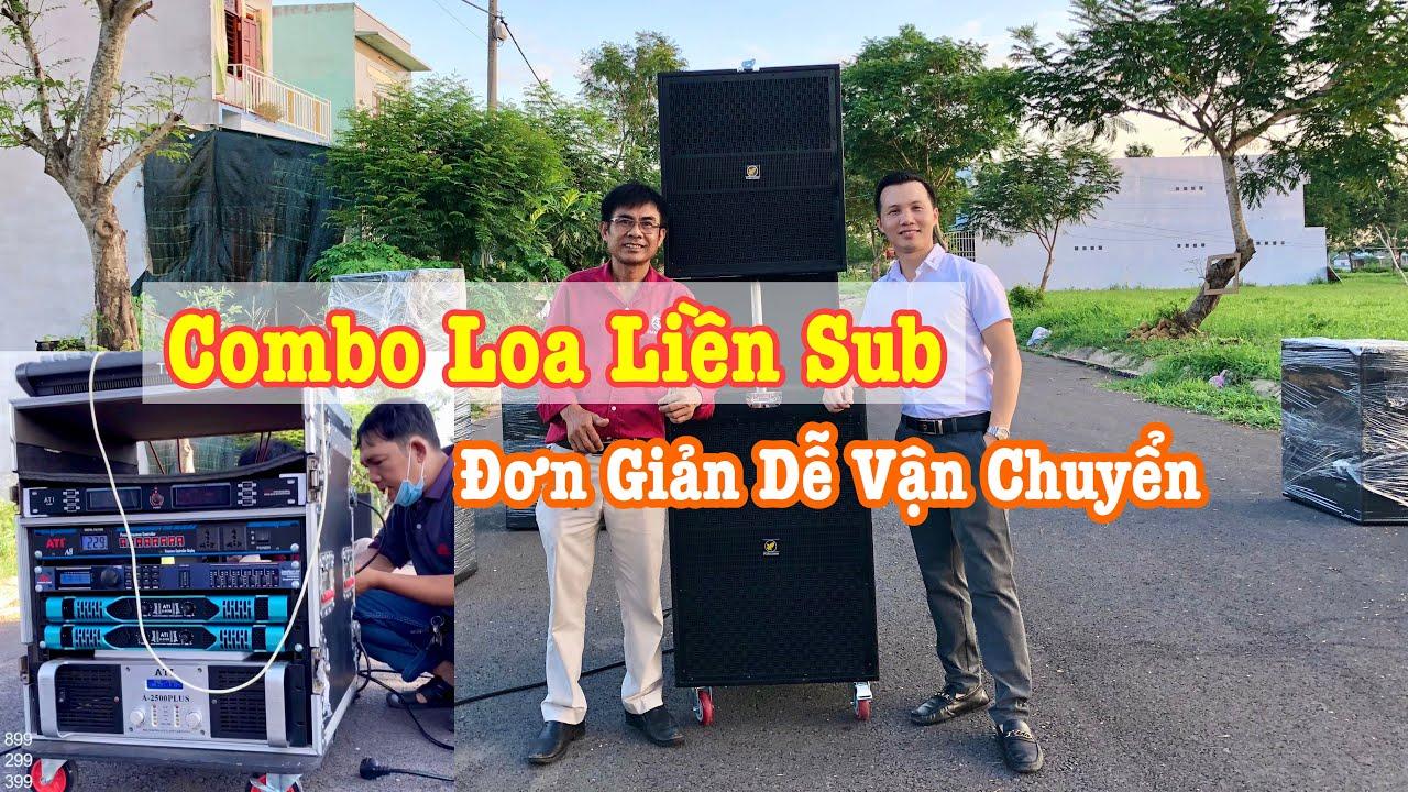 Bộ Loa Liền Sub Siêu Gọn – Dễ Vận Chuyển Phủ 300-500 Khách/Cặp| Thanh Huy Audio