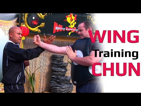 Wing Chun kung fu Training Lesson 2 Master Wong