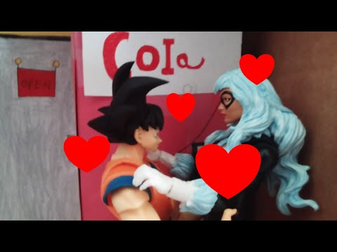 Goku cheats on Chi chi stop motion