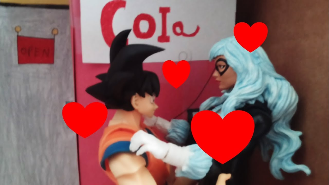Goku cheats on Chi chi stop motion - YouTube