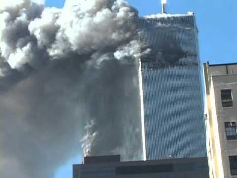 WTC2 collapse, Cindy Weil 16.avi