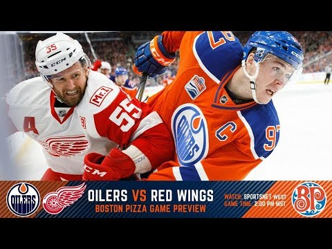 NHL 18 PS4. REGULAR SEASON 2017-2018: Detroit RED WINGS VS Edmonton OILERS. 11.05.2017. (NBCSN) !