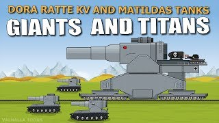 """""""Hot battle of Iron Monsters"""" Cartoons about tanks"""