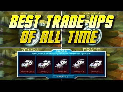 STRIKER WHITE ZOMBAS! BEST TRADE UPS IN ROCKET LEAGUE HISTORY!   The Day Psyonix Blessed My Account. thumbnail