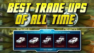 STRIKER WHITE ZOMBAS! BEST TRADE UPS IN ROCKET LEAGUE HISTORY! | The Day Psyonix Blessed My Account.