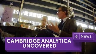 Cambridge Analytica Uncovered Secret Filming Reveals Election Tricks