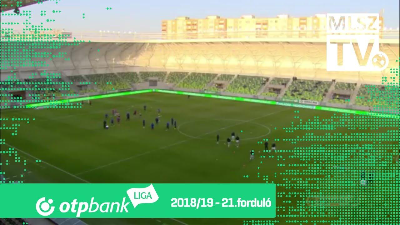 Szombathelyi Haladás – Mezőkövesd Zsóry FC | 1-2 | (1-2) | OTP Bank Liga | 21. forduló | MLSZTV