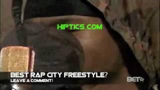 BEST RAP CITY FREESTYLE! CHAMILLIONAIRE RAPS IN REVERSE