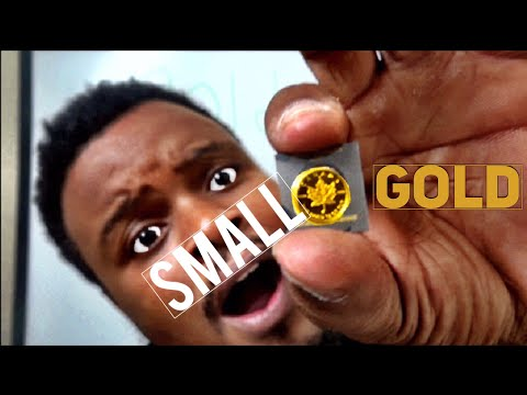 The smallest gold coin