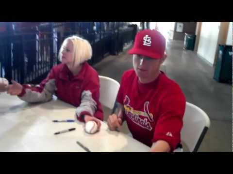 Meeting Shelby Miller.