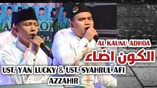 AlKaunu Adhoa /Ust Syahrul Afi dan Ust Lucky Aditya Azzahir feat Alkaromah