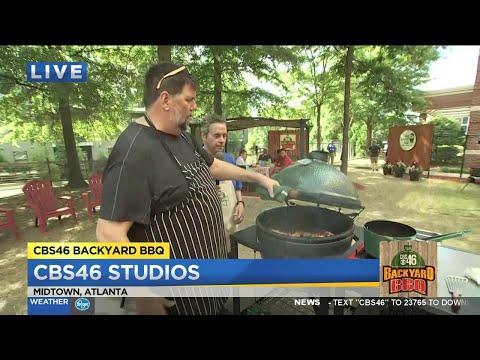 Chef Kevin Rathbun fires up the CBS46 Backyard BBBQ grill