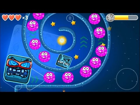 Red ball 4 Volume 4: Pink Bilberry Complete game walk-through with BOSSES killed.
