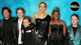 Download Así Son Los HIJOS De Angelina Jolie Y Brad Pitt: TODOS Los DETALLES Mp3 and Videos