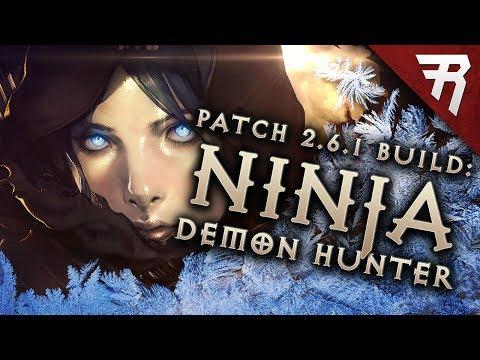Diablo 3 2.6.1 Demon Hunter Build: Shadow Impale GR 112+ & Speed T13 (Guide, Season 12 PTR)