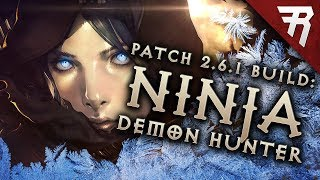 Diablo 3 2.6.1 Demon Hunter Build: Shadow Impale GR 112+ & Speed T13 (Guide, Season 13 PTR)