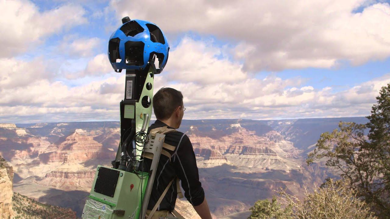 Explore The Grand Canyon With Google Maps Youtube