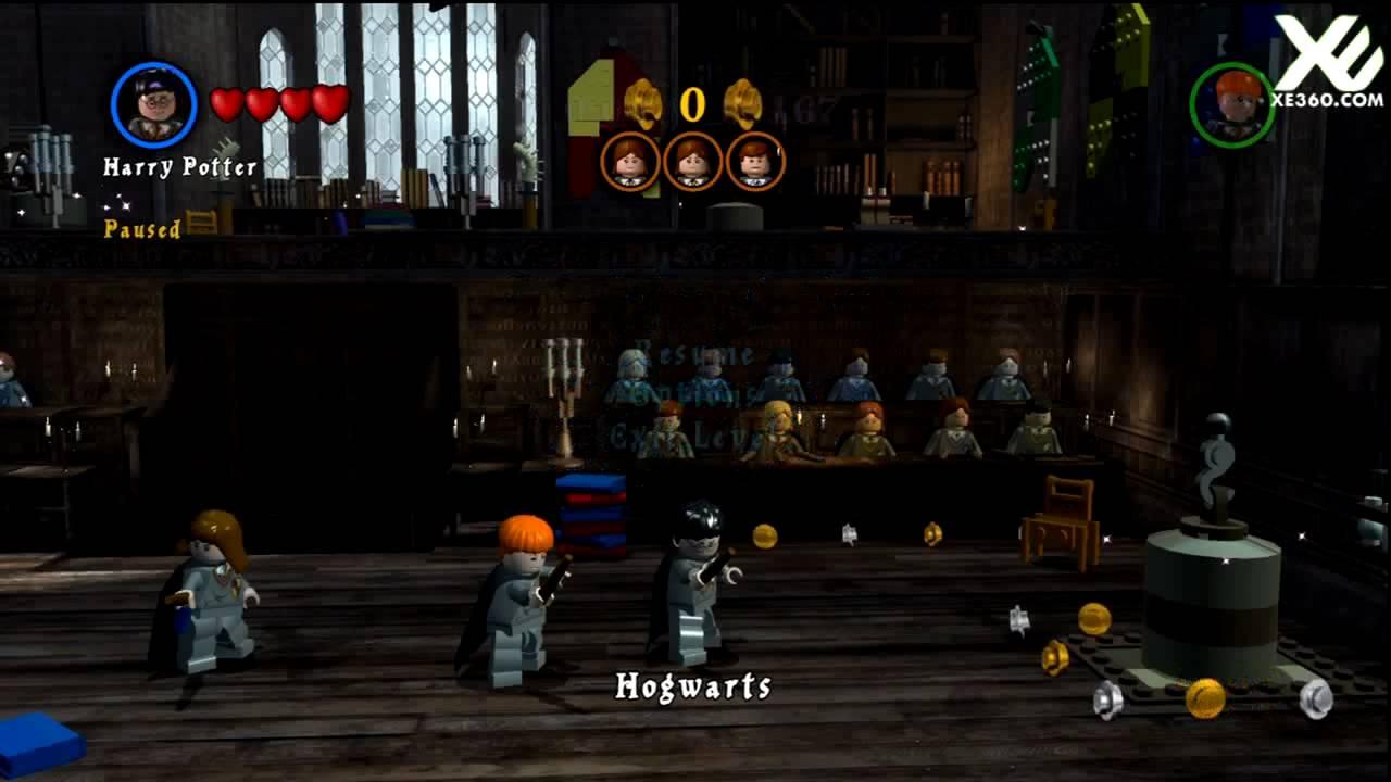 Lego Harry Potter Years 1 4 Demo Gameplay Hd Youtube