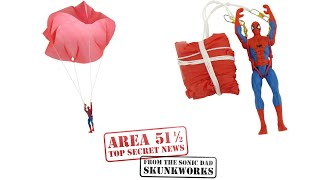 The Sonic Action Figure Parachute: Area 51 1/2 Project #62 Preview