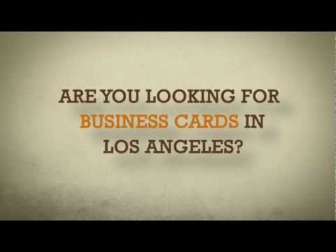 Business Cards Printing in Los Angeles by Gold Image Printing