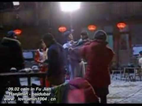 Cain & Abel filming, So Ji Sub and Han Ji Min scene
