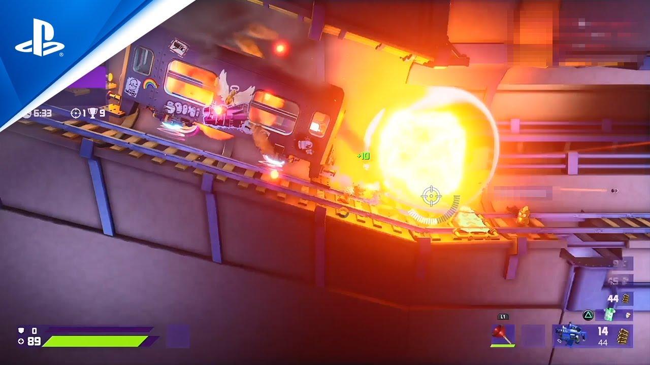 Worms Rumble - ゲームプレイトレーラー