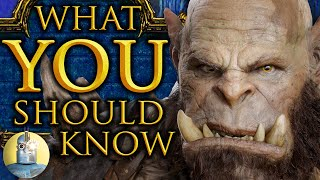top 10 things to know before watching warcraft cinematica