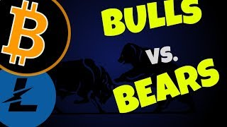 🌟 BITCOIN and LITECOIN BULLS vs. BEARS 🌟, litecoin and bitcoin price prediction, ltc btc news