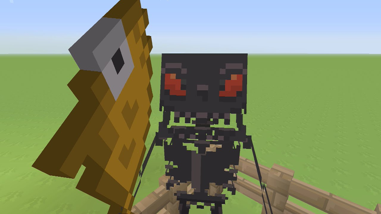 Minecraft Xbox360PS3 TU19 UPDATE WITHER SKELETON IN ALL TEXTURE PACKS FIRST