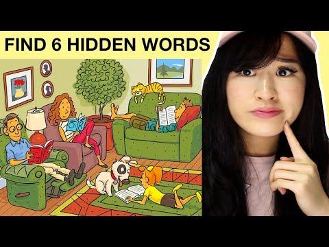 Find The Six Hidden Words