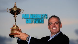 PAUL MCGINLEY TALKS GOLF SWING