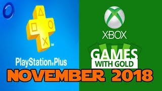 PS4 and XBOX ONE Free Games of November (2018)